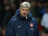 Arsenal manager Arsene Wenger on the touchline during the match against Man United on November 11, 2013
