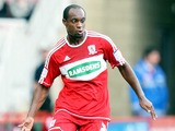 Justin Hoyte of Middlesborough competes during the npower Championship between Middlesbrough and Ipswich Town at Riverside Stadium on September 15, 2012