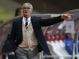 Monaco's Italian coach Claudio Ranieri gestures during the French L1 football match Monaco (ASM) vs Evian TG (EVTG) on November 8, 2013