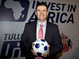 Niall Quinn Director of International Development Sunderland AFC attends the launch of 'Invest in Africa' on January 24, 2012