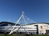 A general shot of the outside of Bolton Wanderers' Reebok Stadium on November 6, 2011