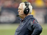 Wade Phillips of the Houston Texans coaches against the Indianapolis Colts on November 03, 2013