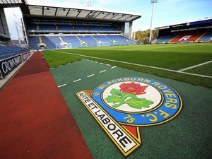 A general view of Blackburn Rovers' stadium Ewood Park on October 30, 2010