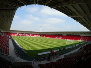 A general view of Doncaster Rovers's Keepmoat Stadium on April 5, 2007