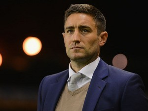 Oldham manager Lee Johnson looks on during the Sky Bet League One match between Wolverhampton Wanderers and Oldham Athletic at Molineux on October 22, 2013