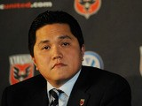 DC United co-owner Erick Thohir speaks during a press conference at W Hotel Washington DC on July 10, 2012
