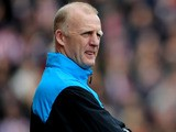 Hull City Football Management Consultant Iain Dowie looks on during the Barclays Premier League match between Stoke City on April 30, 2010