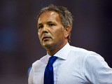 Serbia head coach Sinisa Mihajlovic during an international friendly match against Colombia on August 14, 2013