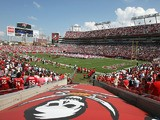 A general view of Raymond James Stadium taken before the game between the Tampa Bay Buccaneers and the Philadelphia Eagles at Raymond James Stadium on October 22, 2006
