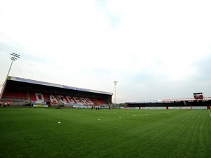 A general view of Victoria Road, home of Dagenham & Redbridge on July 23, 3013