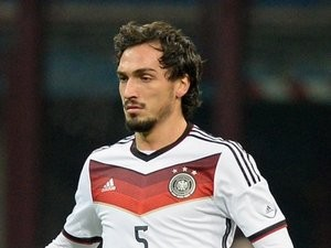 Mats Hummels in action for Germany against Italy on November 15, 2013.