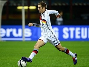 Philipp Lahm in action for Germany against Italy on November 15, 2013.