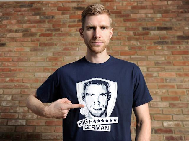 Per Mertesacker is a Big F***** German