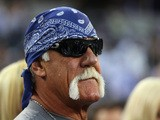 Former wrester, Hulk Hogan at AT&T Stadium before a Sunday night game between the New York Giants and the Dallas Cowboys on September 8, 2013