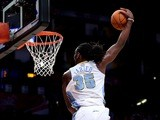 Denver Nuggets forward Kenneth Faried dunks the ball during the BBVA Rising Stars Challenge 2013 in Houston, Texas on February 15, 2013
