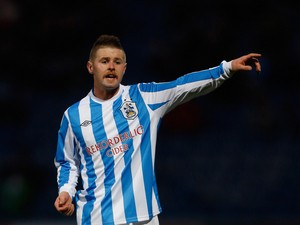 Oliver Norwood of Huddersfield Town during the npower Championship match between Huddersfield Town and Brighton & Hove Albion at the John Smith's Stadium on November 17, 2012