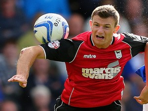 Tommy Smith of Ipswich Town in action during the Sky Bet Championship match against Birmingham City on August 31, 2013