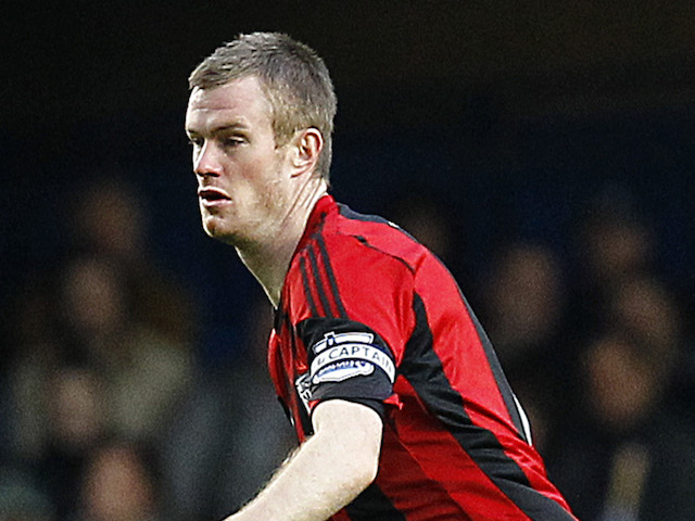 Chris Brunt of West Brom attacks during the Barclays Premier League match between Chelsea and West Bromwich Albion at Stamford Bridge on November 09, 2013