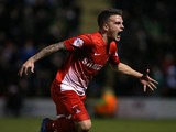Dean Cox of Leyton Orient celebrates after scoring the equaliser during the Sky Bet League One match between Leyton Orient and Sheffield United on November 30, 2013