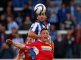 Miller of Accrington during the Sky Bet League Two match between Hartlepool United and Accrington Stanley at Victoria Park on September 14, 2013