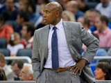 Orlando Magic head coach Jacque Vaughn watches his team in action against Brooklyn Nets on November 3, 2013