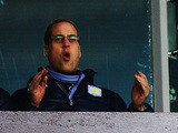 Prince William, Duke of Cambridge reacts as he watches the Barclays Premier League match between Aston Villa and Sunderland at Villa Park on November 30, 2013