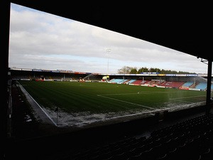 A general view of Glanford Park the home of Scunthorpe United on March 31, 2012