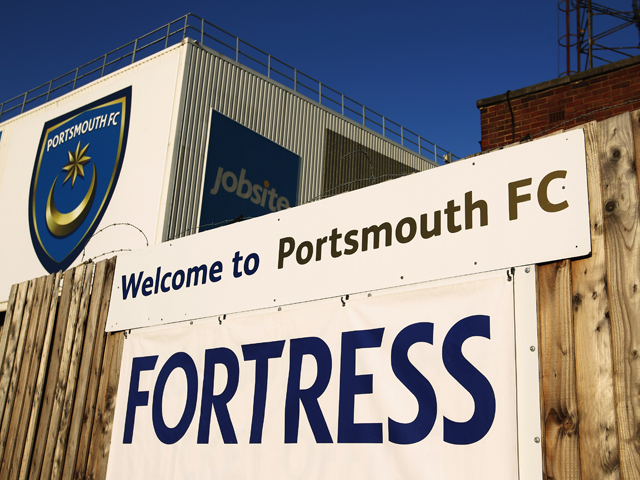 A general view of Fratton Park prior to the npower Championship match between Portsmouth and Hull City at Fratton Park on March 27, 2012