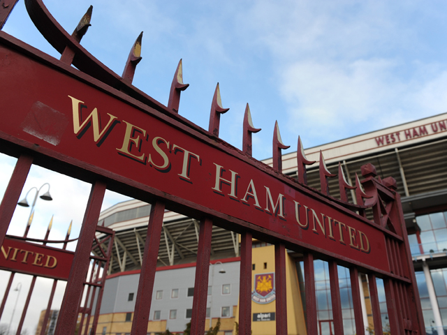 A General view of the Boleyn Ground before the Barclays Premier League match between West Ham United and Fulham at Boleyn Ground on November 30, 2013