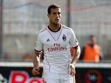 AC Milan's Matias Silvestre in action against Calcio Catania on December 1, 2013