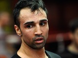 Paulie Malignaggi looks on during a training session in preparation for his upcoming fight against Zaab Judah on December 3, 2013