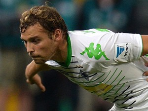 Moenchengladbach's midfielder Christoph Kramer in action on September 20, 2013