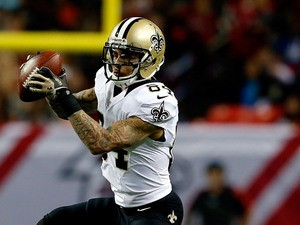 New Orleans Saints' Kenny Stills in action against Atlanta Falcons on November 21, 2013