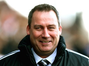 Fulham head coach Rene Meulensteen prior to kick-off against Aston Villa on December 8, 2013
