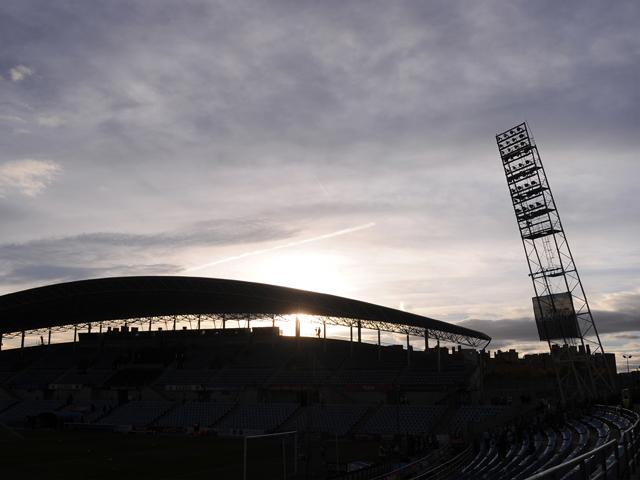 General view of the Coliseum Alfonso Perez stadium ahead the La Liga match between Getafe CF and Elche FC at Coliseum Alfonso Perez stadium on November 9, 2013