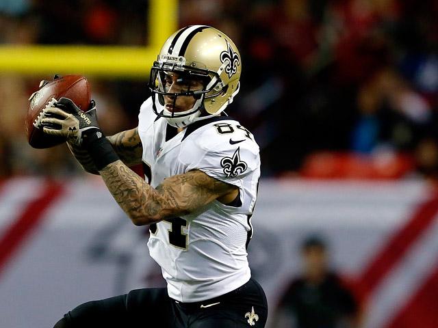 New Orleans Saints' Kenny Stills in action against Atlanta Falcons on November 21, 2013
