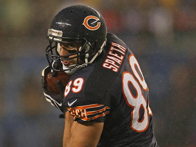 Chicago Bears' Matt Spaeth in action against Houston Texans on November 11, 2012