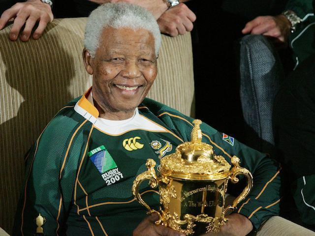 Nelson Mandela in 2007
