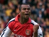 Ashley Cole in action for Arsenal on September 09, 2000.