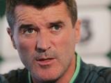 Assistant manager Roy Keane speaks at a press conference at Gannon Park on November 13, 2013