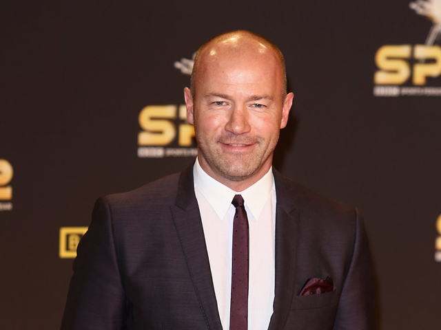 Football pundit Alan Shearer attends the BBC Sports Personality of the Year Awards at ExCeL on December 16, 2012