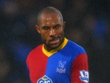 A dejected Danny Gabbidon of Crystal Palace during the Barclays Premier League match between Crystal Palace and Newcastle United and Selhurst Park on December 21, 2013