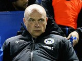 New manager of Wigan Athletic, Uwe Rosler, looks on during the Sky Bet Championship match between Sheffield W