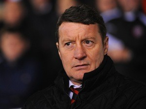 Sheffield United manager Danny Wilson looks on during a League One match at Brammall Lane on February 1, 2013