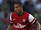 Wellington Silva during a pre season friendly match between Leyton Orient and an Arsenal XI at the Matchroom Stadium on July 30, 2013