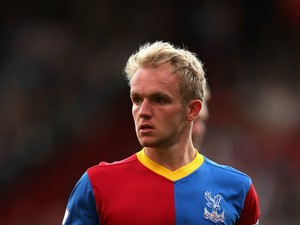 Jonny Williams of Crystal Palace in action during the Barclays Premier League match between Crystal Palace and Sunderland at Selhurst Park on August 31, 2013
