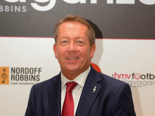 Alan Curbishley during the Football Extravaganza at the Grosvenor House Hotel on October 29, 2013