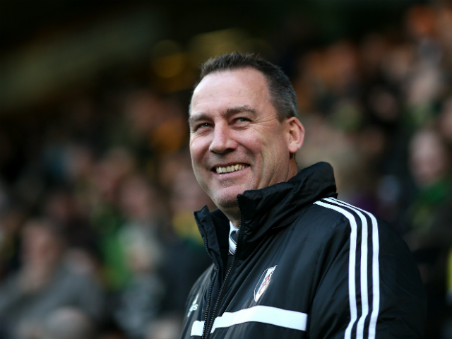 Manager Rene Meulensteen of Fulham during the Barclays Premier League match between Norwich City and Fulham at Carrow Road on December 26, 2013