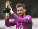 Hugo Lloris in action for Tottenham Hotspur on October 5, 2014