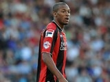 Bournemouth's Wes Thomas in action against Portsmouth during their Capital Cup first round match on August 6, 2013